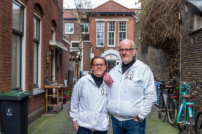 Ook Monique en Martin Jansen van Buren voor Buren vrezen het gedwongen vertrek uit het pand aan de  Amsterdamsestraatweg.