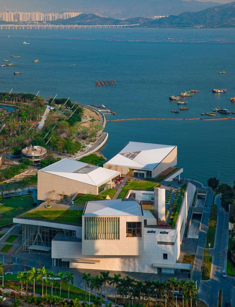 Sea World Culture and Arts Center, Shenzen.  Beeld null
