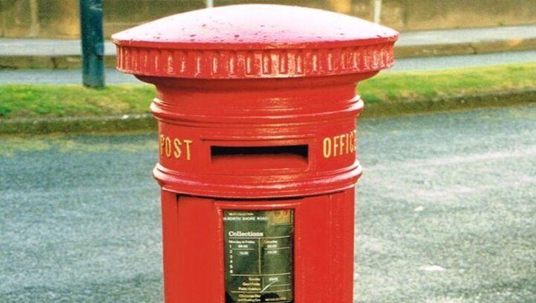 Een van de 7.235 Victoriaanse brievenbussen in het Verenigd Koninkrijk. Beeld .