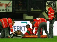 Proper schrikt van blessure Musaba