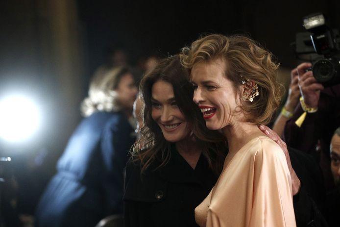 Carla Bruni-Sarkozy et Eva Herzigova