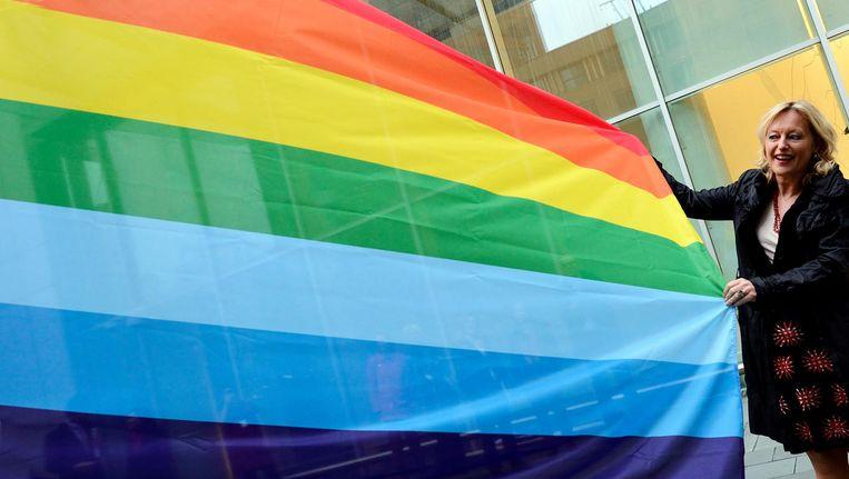 COC Nederland roept de regering op tot aanvullende maatregelen ter bevordering van transgenderemancipatie. Beeld anp