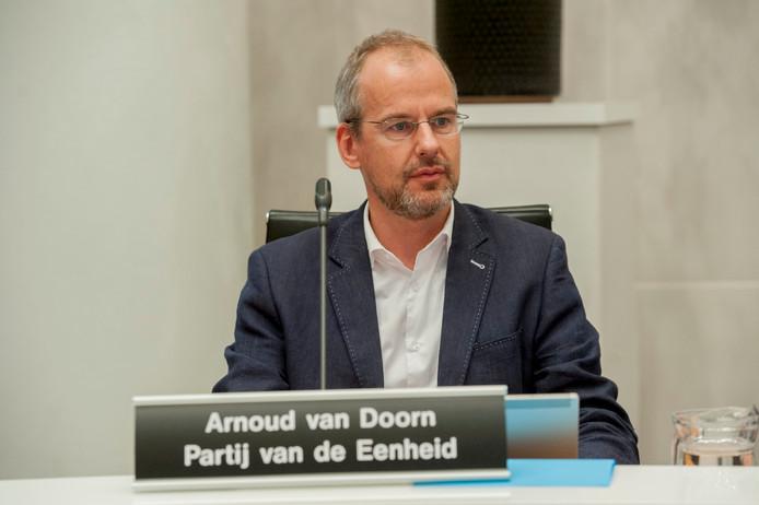 Gemeenteraad Den Haag Arnoud van Doorn Partij van de Eenheid