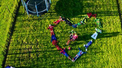 VTM-drone vliegt zaterdag over Wielsbeke. Heb jij ook een boodschap klaar?