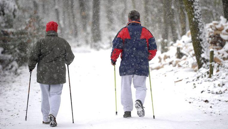 Sneeuw in Nederland Beeld anp