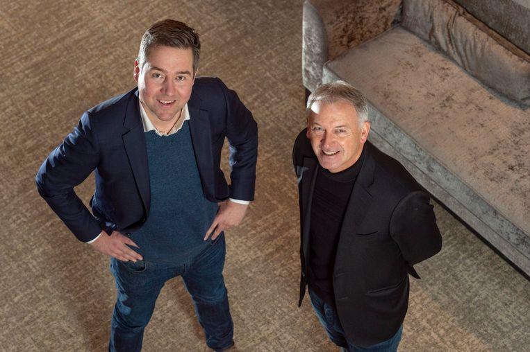 Vincent Mannaert en Marc Degryse.