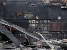 Waarom het afgebrande café d'n Dijk in Ravenstein na twee jaar nog steeds een ruïne is
