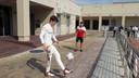 Leclerc houdt de bal hoog.