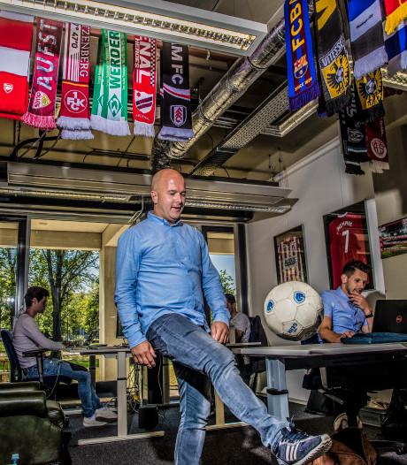 Zwollenaar bij 'Funda van het voetbal' overwint scepsis