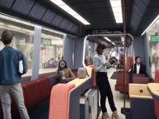 Minder zitten: zo komt de nieuwe Rotterdamse metro er uit te zien