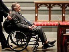 Oud-president Bush senior (93) in ziekenhuis opgenomen