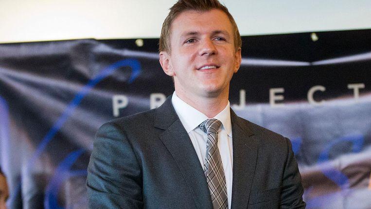 James O'Keefe, de baas van Veritas. Beeld afp