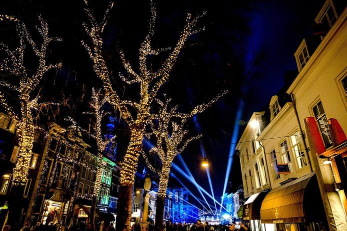 Sfeerplaat Serious Request in Breda Foto ANP / Sander de Koning