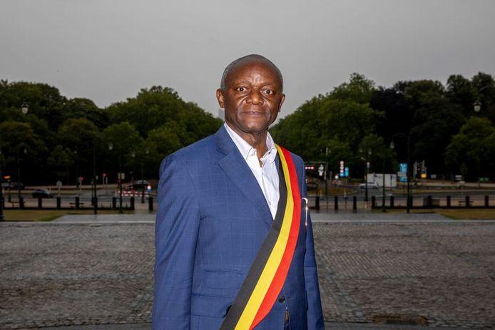 Pierre Kompany, bourgmestre de Ganshoren.