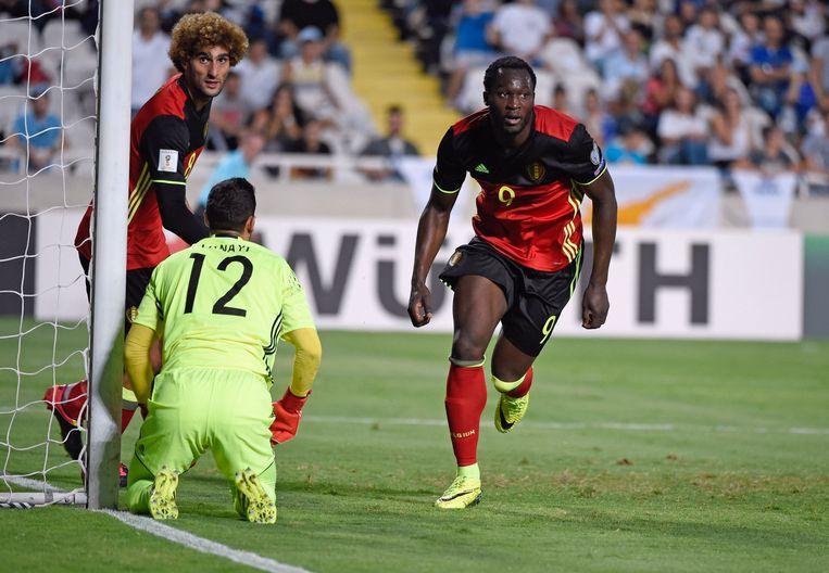 13': Lukaku heeft er net 0-1 van gemaakt.