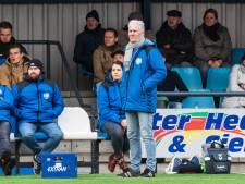 Tijd voor een nieuwe start: trainer Machielsen na dit seizoen weg bij Blauw Wit'66