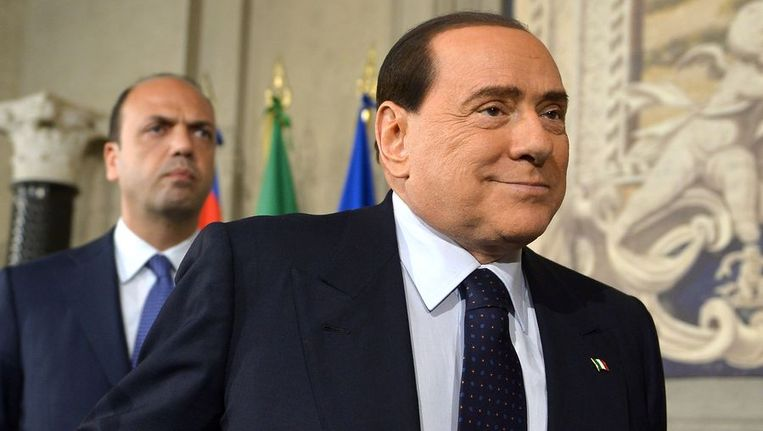 Silvio Berlusconi. Beeld afp