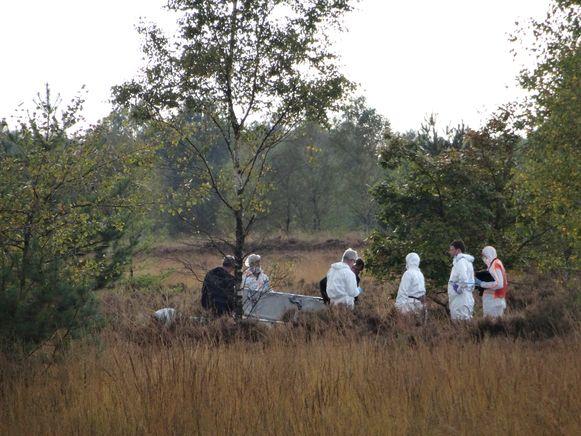 Het lichaam van het slachtoffer werd op 3 oktober 2016 gevonden op de heide van het Nationaal Park Hoge Kempen
