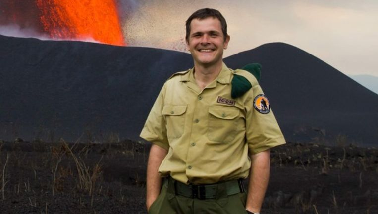 Emmanuel de Merode, de Belgische directeur van het nationale park Virunga in het oosten van de Democratische Republiek Congo.