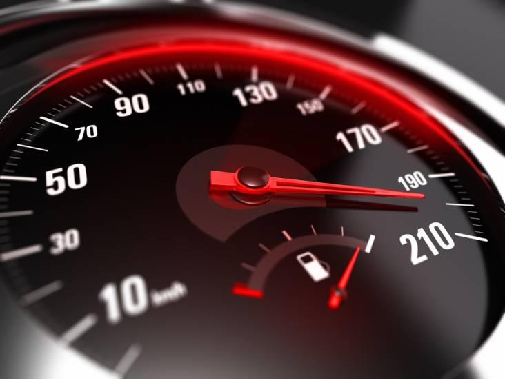 Waarom kan ik snelheidsmeter niet zelf kiezen?