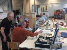 Cursisten Kunstlokaal Gemert exposeren in Beek en Donk