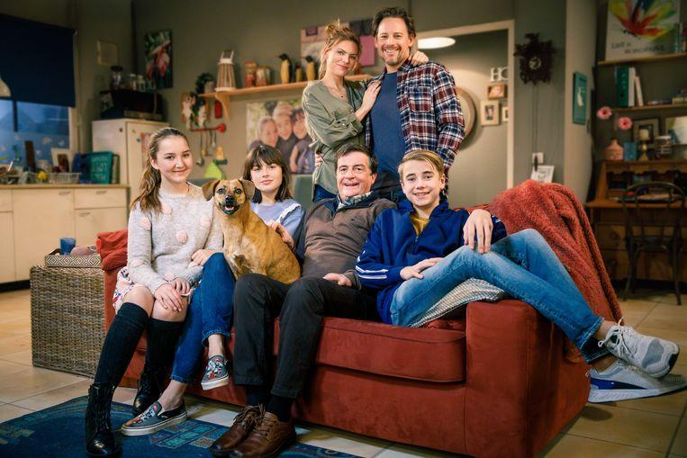 De nieuwe Familie Verduyn in GTST. Beeld Geert de Lange
