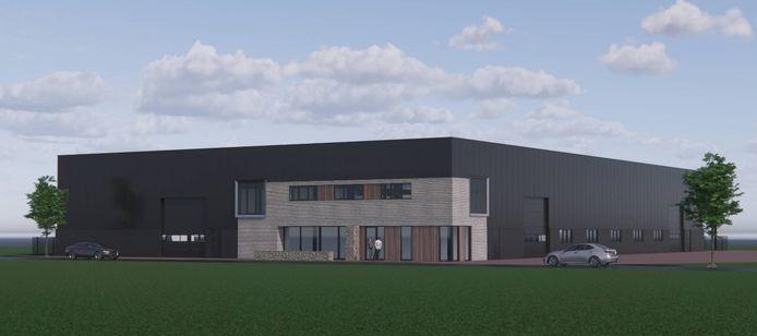 Impressie nieuwbouw Van den Hout