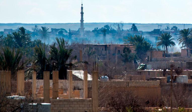 Baghuz wordt beschouwd als het laatste bolwerk van IS in Syrië.
