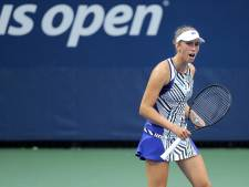 Elise Mertens rejoint David Goffin en huitièmes de finale de l'US Open