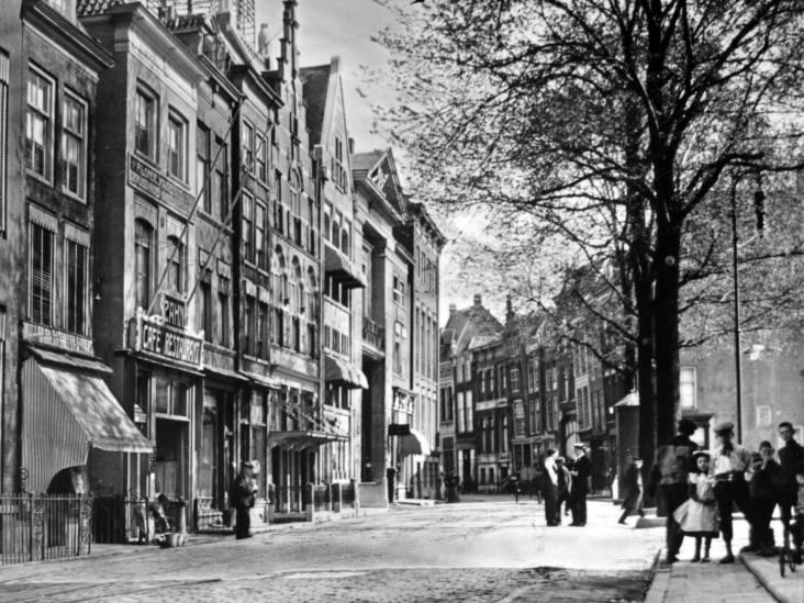 De Wijnstraat en Groenmarkt waren samen 100 jaar geleden de Wallstreet van Dordrecht