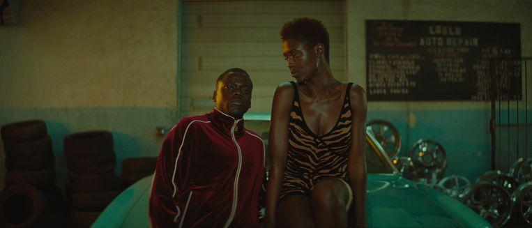 Daniel Kaluuya en Jodie Turner-Smith in Queen & Slim. Beeld
