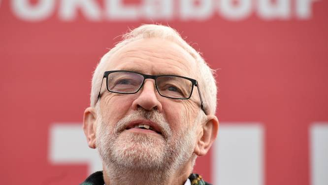 Britse Labourpartij schorst voormalig leider Jeremy Corbyn na negatief antisemitismerapport