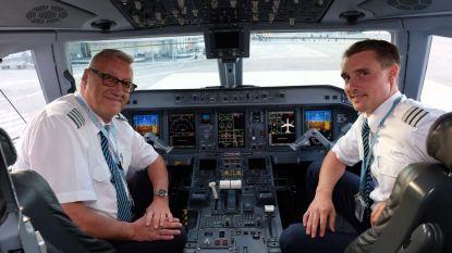 """Piloot Ludo (65) na 41 jaar dienst én 29.000 vlieguren met pensioen: """"Tranen in de ogen op laatste vlucht"""""""
