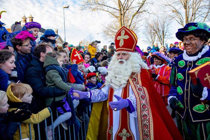 Sinterklaasintocht.