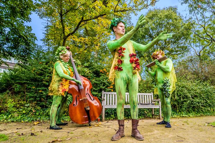 Botanische Tuin Delft : Opvallend groen in jarige botanische tuin delft ad.nl