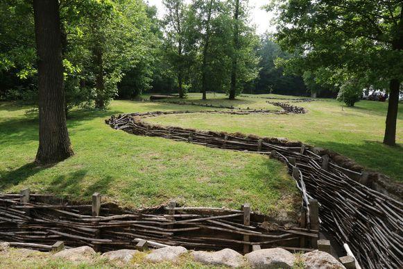 Zo ligt de gerenoveerde archeologische site er vandaag bij.