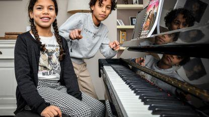 """Junes en zusje Jillia samen op de planken met musical Pocahontas: """"Laat ons maar in de spotlights staan"""""""