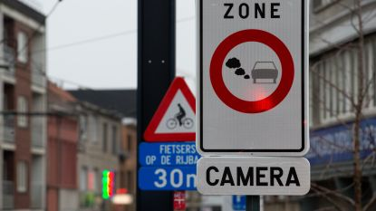 425 politievoertuigen mogen lage-emissiezones in ons land niet binnen