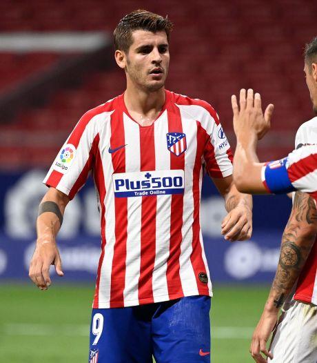 Atlético zet dankzij Morata weer stap in richting Champions League