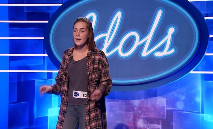 Nina's auditie bij Idols.