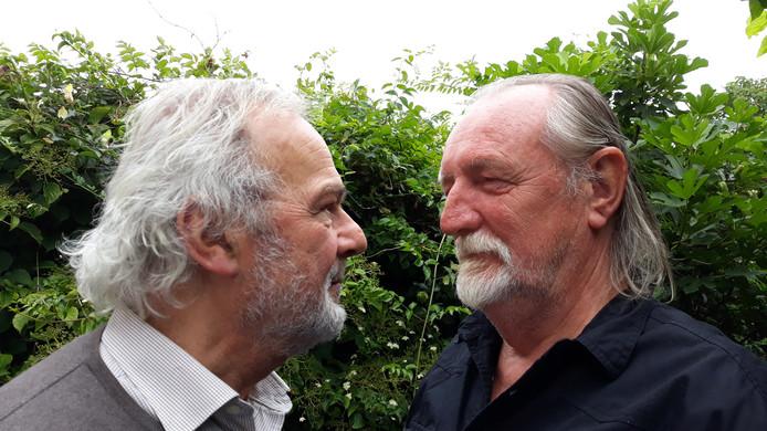 Paul Beliën (links) en Gé van Berkel.