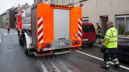 Verkeershinder na diesellek in Noorderstraat