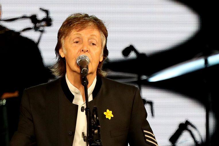 Paul McCartney Beeld EPA
