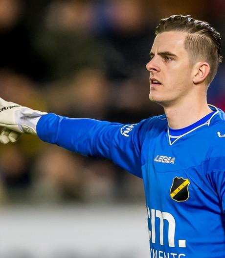 NAC-keeper Jorn Brondeel: 'Bij Twente moet ik voor mijn kans gaan'