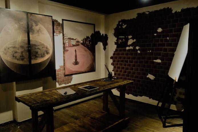 Escape Room 'Het atelier van Jeroen Bosch'. Foto: Escape Den Bosch