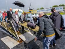 'Best wel zwaar' kanonnetje van Fort Sabina naar Fort Prins Frederik