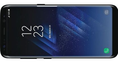 """""""Samsung Galaxy S8 in 0,01 seconde ontgrendeld door ernaar te kijken"""""""