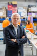 Joost bauwens, voormalig voorman van Westenburg Assuratien, is nieuwe baas van de voedselbank Breda.
