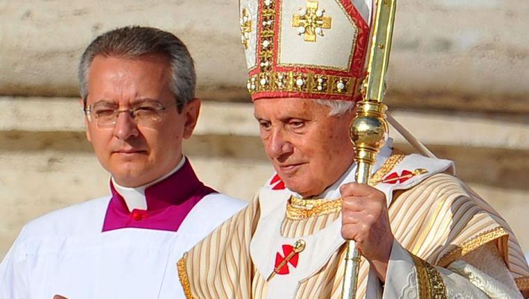 Paus Benedictus XVI. Beeld afp