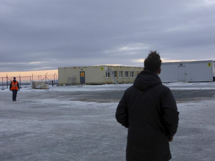 Un centre pour migrants à Kirkenes, dans le nord de la Norvège (archive d'illustration)